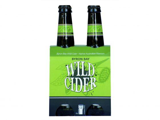 byron wild cider 4 pack
