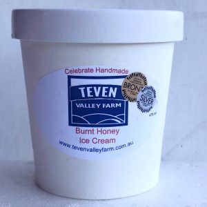 teven valley ice cream byron bay food producer product burnt honey ice cream